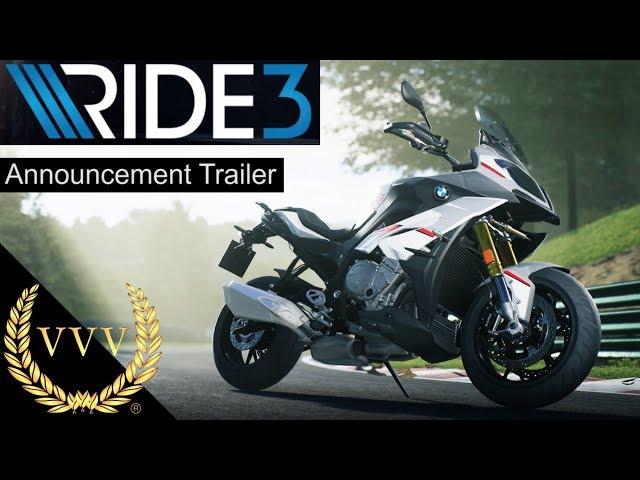 Ride 3 Announcement Trailer