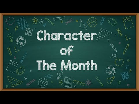 Character of The Month | November 2020 | Toleransi