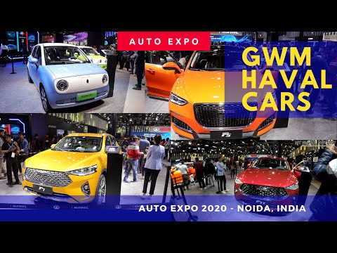 HAVAL GMW Cars Showcased In AutoExpo 2020, Noida, India - X5, X7, X7x