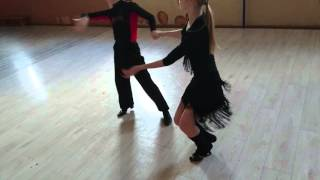 Артём и Валерия румба счёт