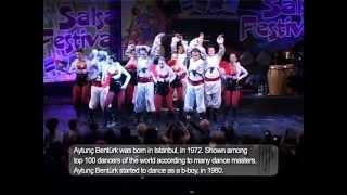 AYTUNC BENTURK & ABDA DANCERS, 2. ANTALYA SALSA FEST 2010. MJ,VOUGE,SALSA