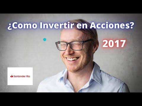 Invertir en Acciones Santander Rio