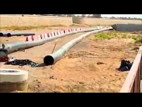 Sewage bypass pumping project preparation