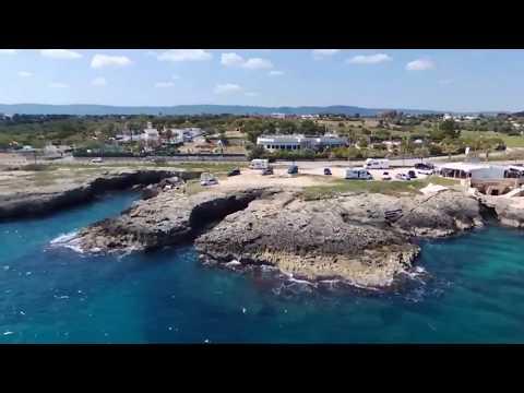 Drone monopoli città e spiagge
