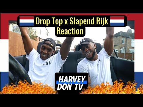 SBMG - Drop Top x Boef ft Sevn Alias - Slapend rijk HarveydonTV @Raymanbeats Reaction