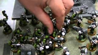 Warhammer 40K 6th Edition Battle Report: Goth Orks vs. Black Templars (Travis vs. Brandon)