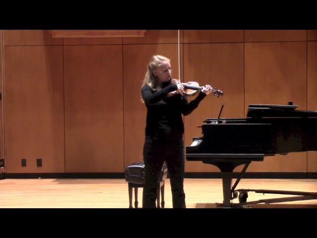 Grażyna Bacewicz Sonata No. 2 for Solo Violin