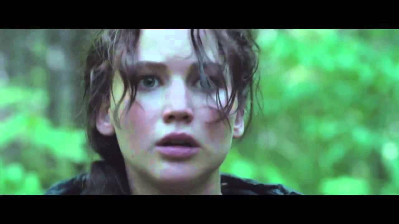 the hunger games the games begin scene hd youtube