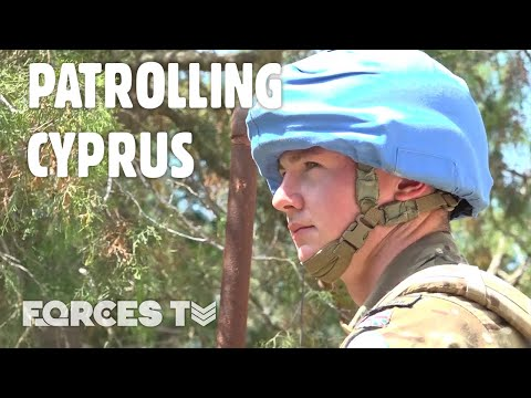 Op TOSCA: INSIDE The Cyprus Buffer Zone With Reservists On Peacekeeping Duty   Forces TV