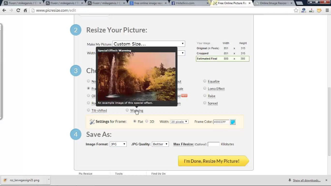 Free Online Image Resizer Without Losing Quality - YouTube