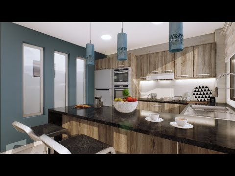 Departamento dise o interior pebo youtube for Diseno interior departamento