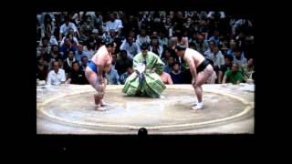 日馬富士vs琴奨菊 平成27年大相撲五月夏場所 結びの一番 Harumafuji vs ...