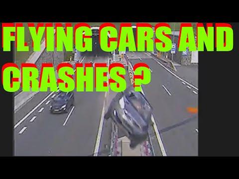 car crash insane compilation  flying cars   car crashes   insane car crashes   car crash in a flash