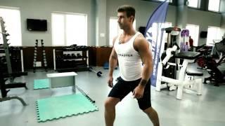 bodymaster : Растяжка икроножных мышц и ахиллового сухожилия