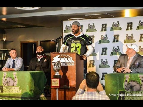Richmond Roughriders Press Conference Announcing Jim Jones as New Part Owner!