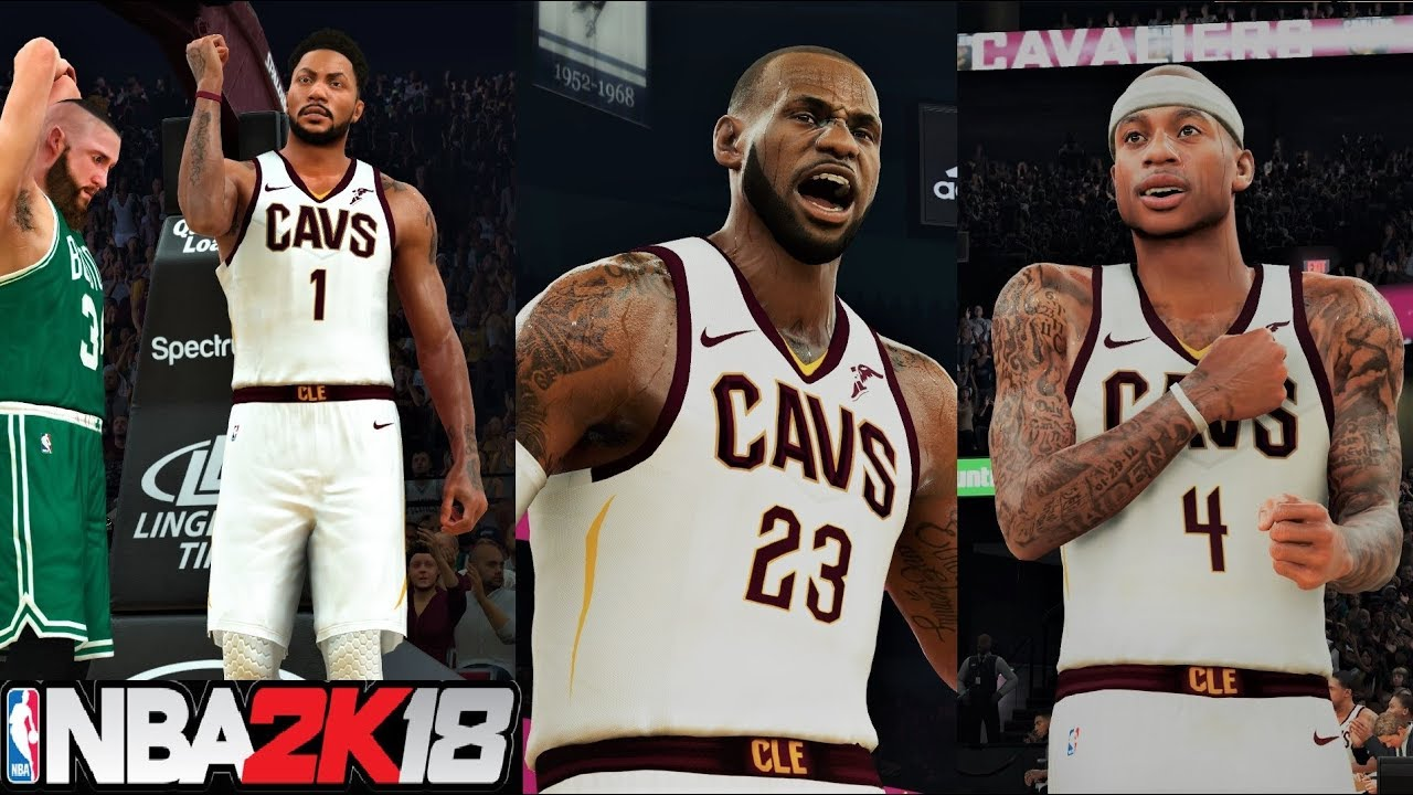 4cd5a9c04c68 NBA 2K18 Roster OMG! Isaiah Thomas ↔ Kyrie Irving TRADE! l Cavs vs ...