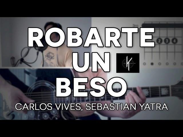 Carlos Vives, Sebastian Yatra - Robarte un Beso  (Bachata Remix By Dj Khalid)