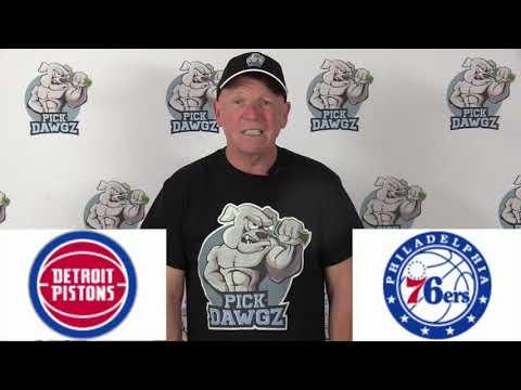 Philadelphia 76ers vs Detroit Pistons 3/11/20 Free NBA Pick and Prediction NBA Betting Tips