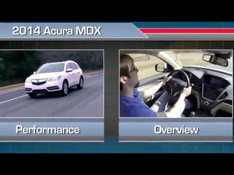 2014 Acura MDX Interior Review -- U.S. News Best Cars