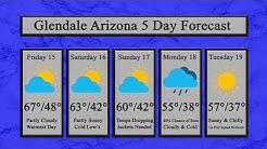 Weather Forecast for Glendale AZ C-Back Ranch