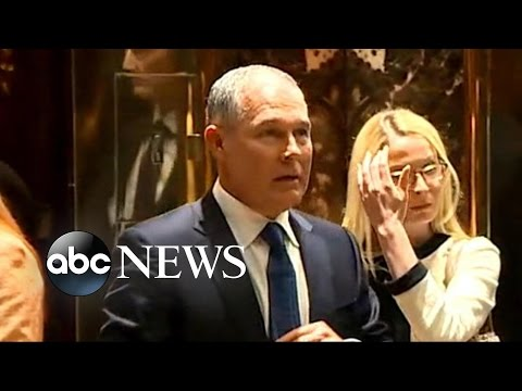 Trump Picks EPA Critic Scott Pruitt to Head EPA