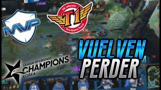 SKT T1 VS MVP - DERROTA FRENTE AL COLISTA Y LOS 5K DE DAÑO DE BLANK EN 50 MIN!