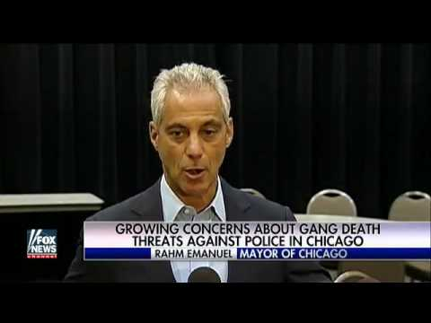 Growing concerns over gangs targeting Chicago police