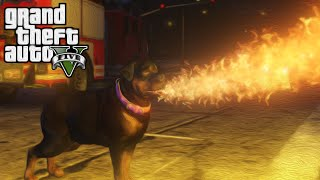 DEMONIC HELL HOUND! | GTA 5 Funny Moments w/ Mods