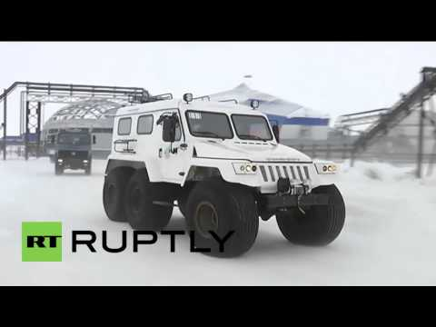 Russia: DM Shoigu inspects construction of Arctic Trefoil complex