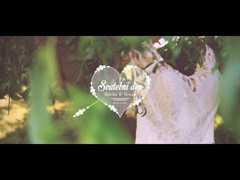 Svatební video ❤ Adélka a Honzik