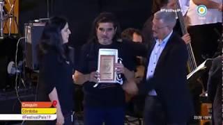 Fabián Matus participó del homenaje a Mercedes Sosa en Cosquín