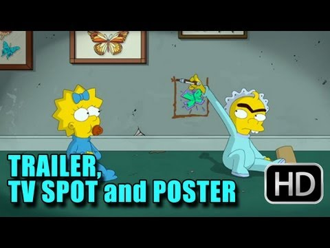 The Simpsons The Longest Daycare Trailer - TV Spot and Poster