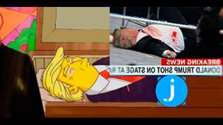 La muerte de Donald Trump La predicción más escalofriante de Los Simpson