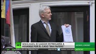 WikiLeaks asegura que Ecuador expulsará a Julian Assange dentro de