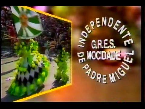 Mocidade Independente - Compactos dos Desfiles de 1984 a 1987 (Manchete)