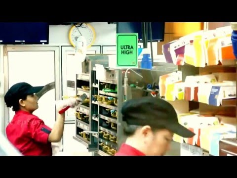 Work-flow Process Automation in McDonald's Kitchen.