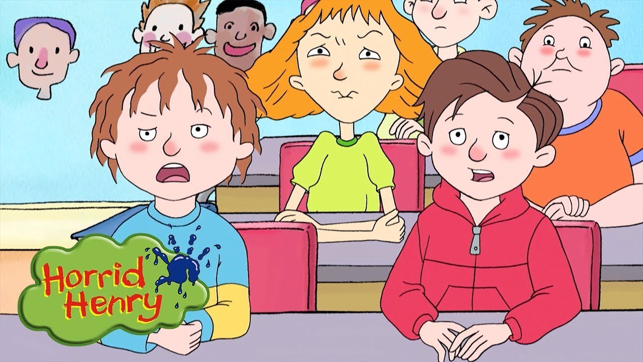Download Trouble in Class   Horrid Henry   Cartoons for Children