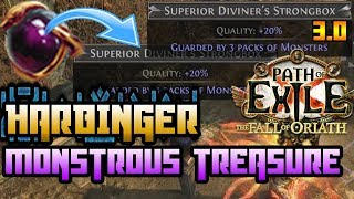 Path of Exile [3.0] : SHOWDOWN at the CHATEAU with MONSTROUS TREASURE   - Harbinger League