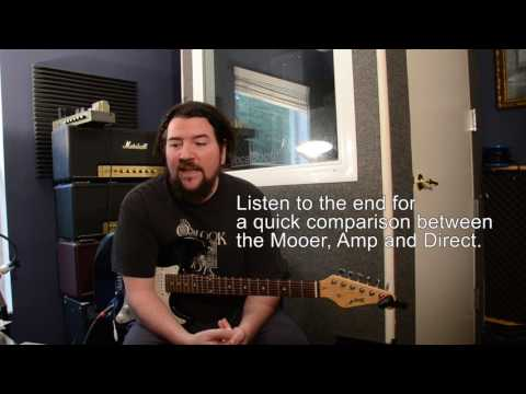 Kemper style profile in a $99 pedal?  Mooer 001 Micro Preamp CLEAN channel tested.