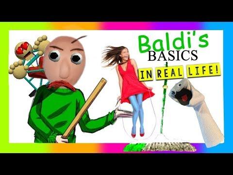BALDI'S BASICS IN REAL LIFE | Screen Team