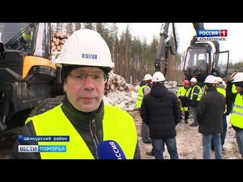 Рекорды в лесозаготовке готовятся ставить в Шенкурском районе