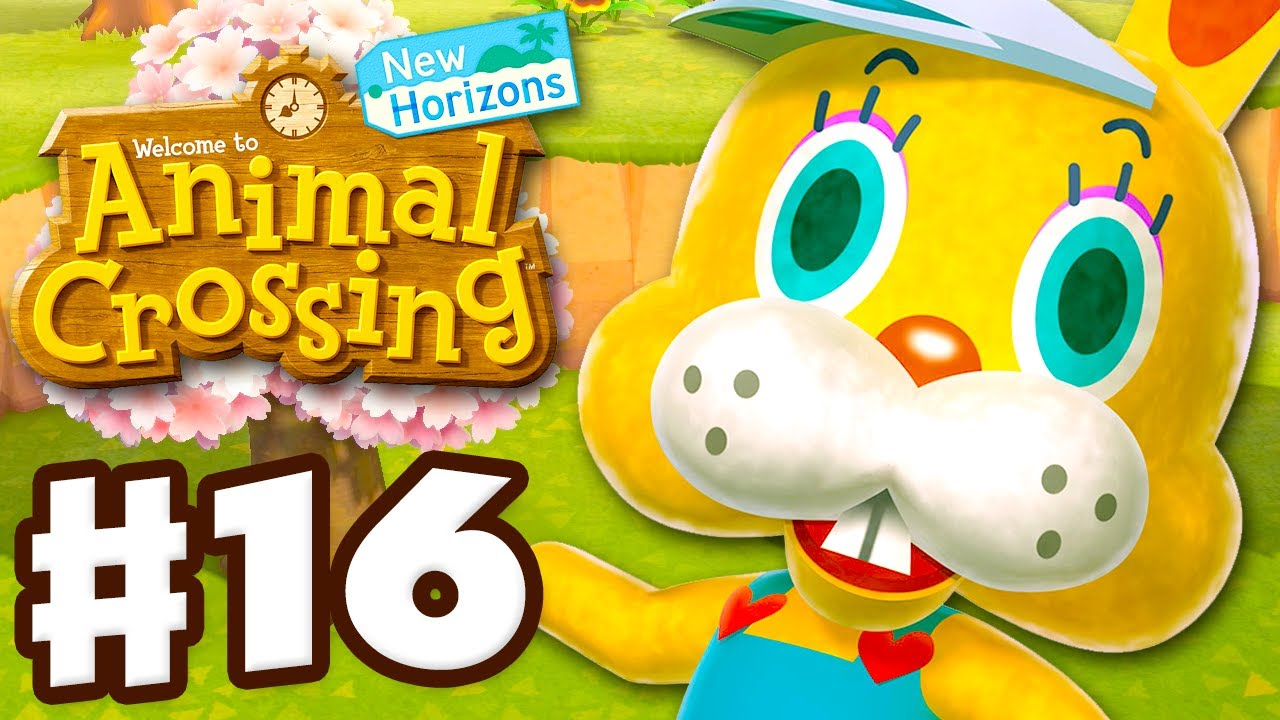 Zipper! Eggs! Bunny Day Soon! - Animal Crossing: New Horizons - Gameplay Walkthrough Part 16