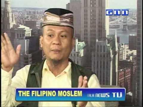 THE FILIPINO MUSLIM(Ustadz Barcelon Interview on GNN-2