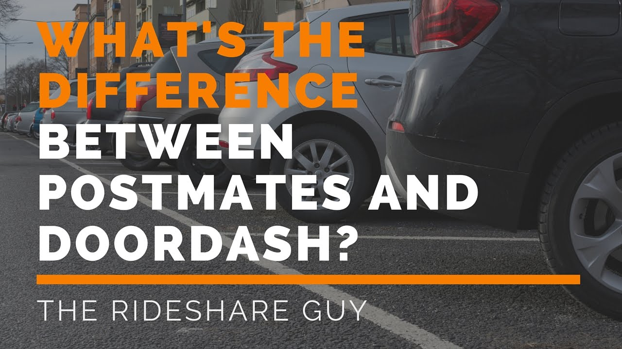What's The Difference Between Postmates And Doordash? - Maximum