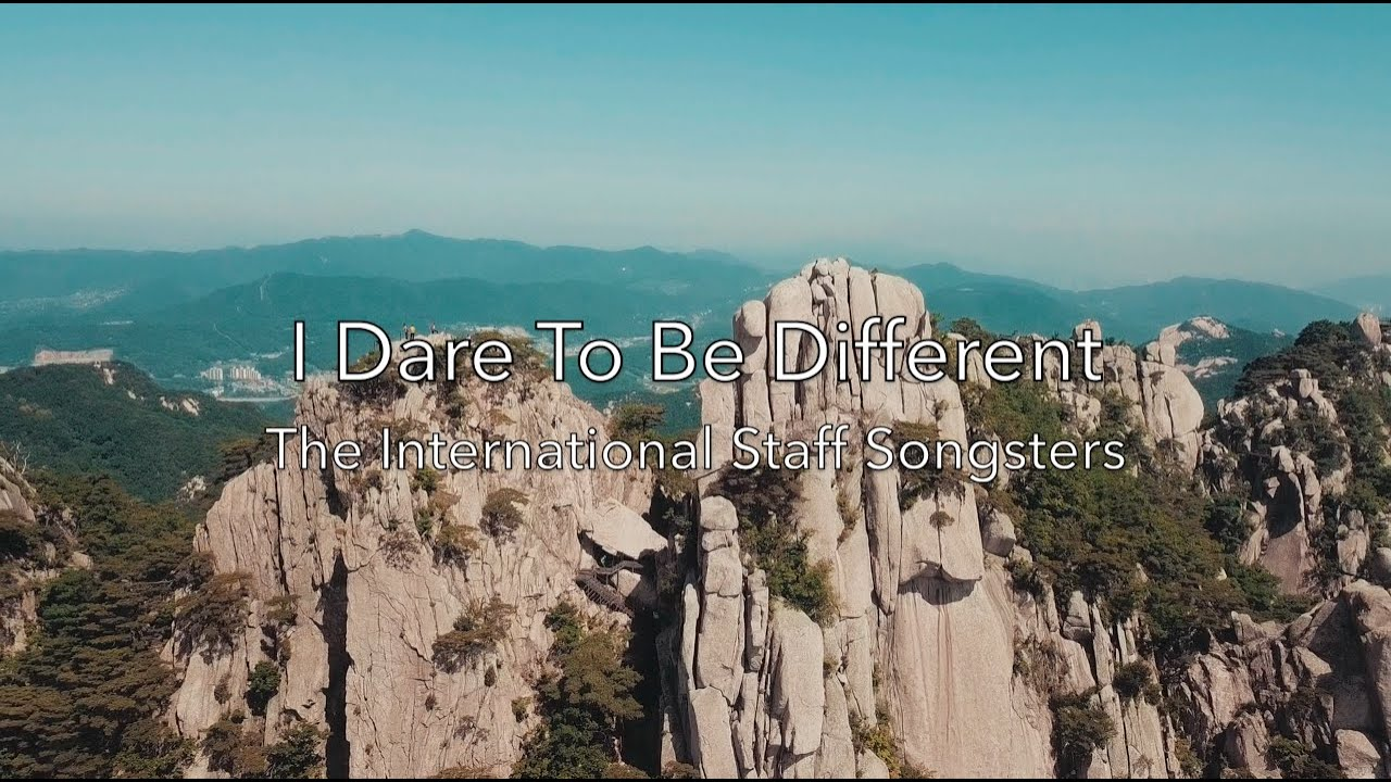 I Dare to Be Different