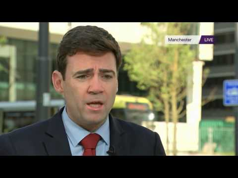 Andy Burnham: Manchester attack perpetrators will be hunted down