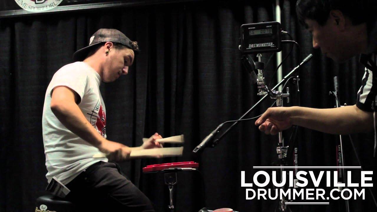 2012 World's Fastest Drummer Finals - Battle of the Hands
