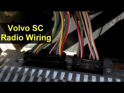 volvo 850 radio wiring harness diagram volvo radio wiring harness connections votd youtube  volvo radio wiring harness connections
