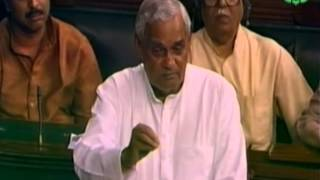 Speech during Parliamentary session on Corruption: Shri Atal Bihari Vajpayee Ji