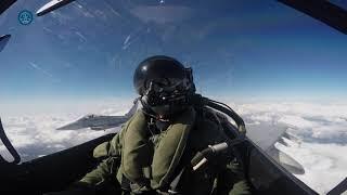 Volamos en un Eurofighter del Ala 11